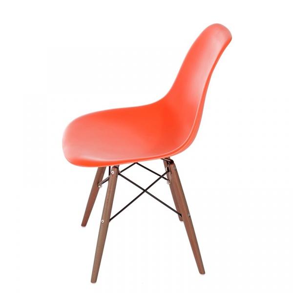 Krzesło P016W PP pomarańcz/dark DK-63476