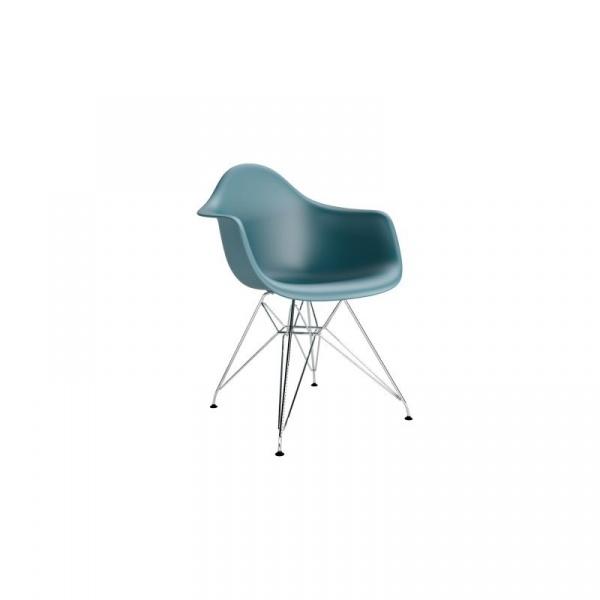 Krzesło P018PP navy green, chrom HF DK-48988