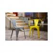 Krzesło Paris Arms szare inspirowane Tol ix 5902385711074