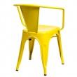 Krzesło Paris Arms żółte inspirowane Tol ix 5902385717083