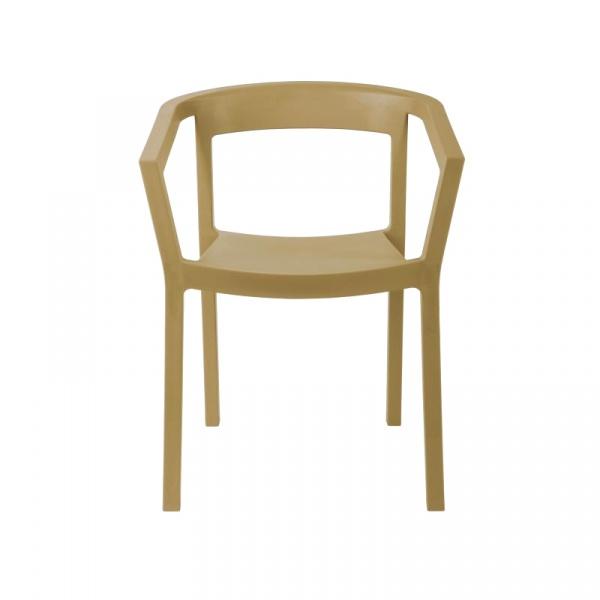 Krzesło Peach piaskowe DK-40475
