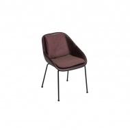 Krzesło Poter Soft 81x55x60 cm Maduu Studio ciemnobrązowe