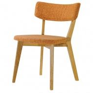 Krzesło Scandi King Home pomarańczowe