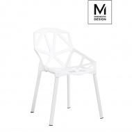 Krzesło Split Mat Modesto Design białe