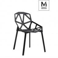 Krzesło Split Mat Modesto Design czarne