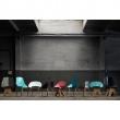 Krzesło stalowe 72 cm Gie El ciemnozielone FST0294