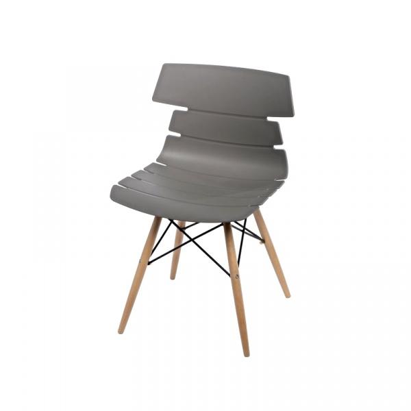 Krzesło Techno DSW szare 5902385712859