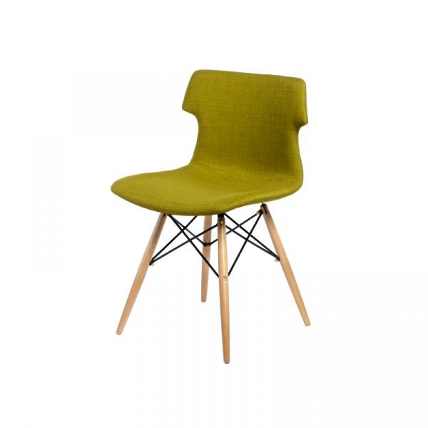 Krzesło Techno DSW tapicerowane oliwkowe DK-41129