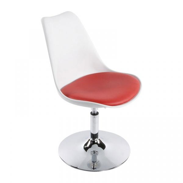 Krzesło Victoria III Kokoon Design biało-czerwony CH00240WHRE