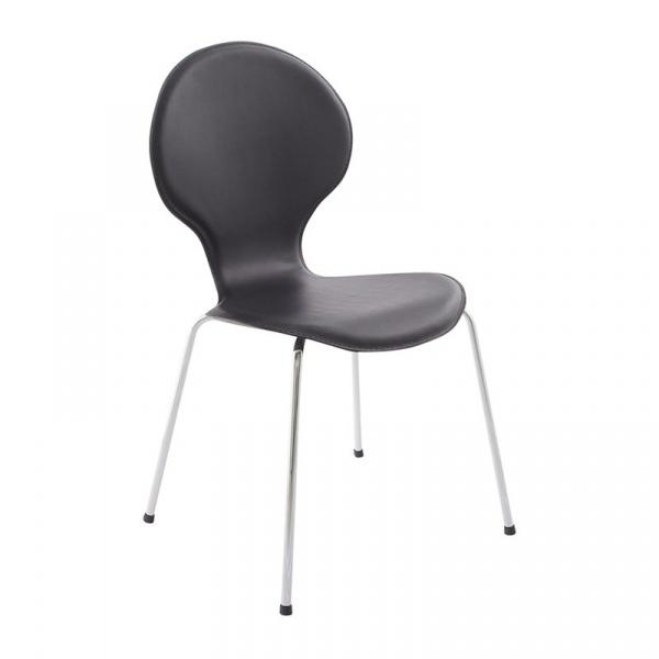 Krzesło Vlind Kokoon Design czarny CH00310BL