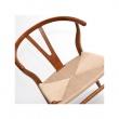 Krzesło Wicker jasno brazowe DK-12783