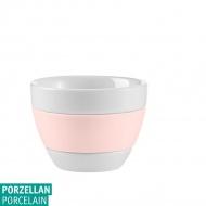 Kubeczek do espresso 40ml Koziol AROMA biały/jasny róż KZ-3562347