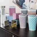 Kubek 350 ml z zaparzaczką do herbaty Eigenart Koniczyna różowy EA-3566911