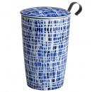 Kubek 350 ml z zaparzaczką do herbaty Eigenart Smugi indigo EA-3633822