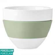 Kubek do latte 300ml Koziol AROMA biały/eukaliptusowa zieleń KZ-3560344