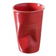 """Kubek """"gnieciony"""" do wody 0,25 l Revol Froisses czerwony"""