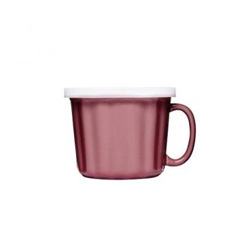 Kubek na zupę z pokrywką 0,5 l Sagaform Soup różowy