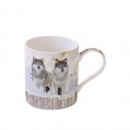 Kubek porcelanowy 350 ml Nuova R2S Wild Life Husky