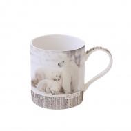 Kubek porcelanowy 350 ml Nuova R2S Wild Life Polar Bear