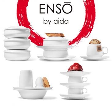 Kubek porcelanowy z podwójnymi ściankami 0,2 L Aida Denmark ENSO