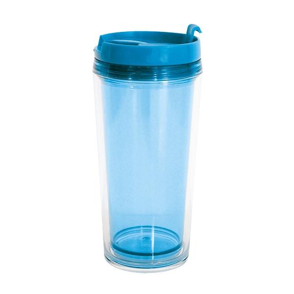 Kubek temiczny 0,45 l Zak! Designs Hot Beverage niebieski 1783-8090