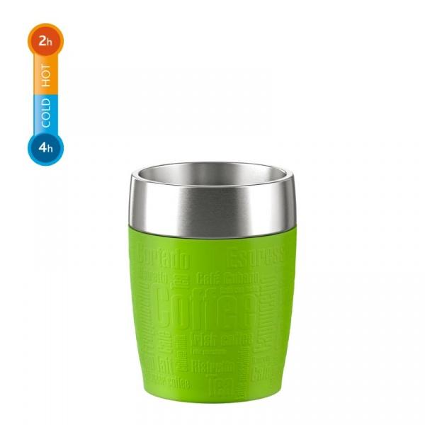 Kubek termiczny 0,2 L EMSA Travel Cup zielony  EM-514516
