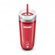 Kubek termiczny 0,26 l ICED COFFEE MAKER Zoku czerwony