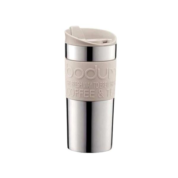Kubek termiczny 0,35 l Bodum Travel biały stalowy  BD-11068-913