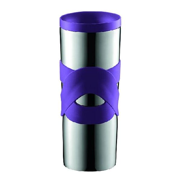 Kubek termiczny 0,45 l Bodum Travel fioletowy BD-11044-278