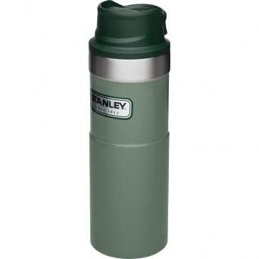 Kubek termiczny stalowy 0,47L Stanley Classic zielony