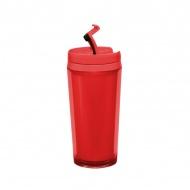 Kubek z podwójnymi ściankami 0,4 l Zak! Designs czerwony