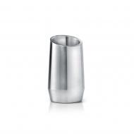 Kubełek izolowany na butelkę Leopold Prime srebrny