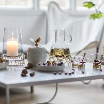 Kubki szklane do wina 2 szt. Sagaform Winter