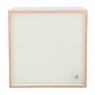 Lampa 38x38x30 cm NORDIFRA CUBES I jasnobrązowa