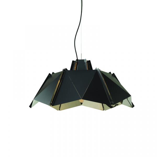 Lampa King Bath Origami 45 czarny mat MD20970-1-450.CZARNA