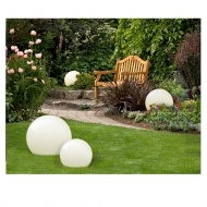Lampa ogrodowa ogrodowa 500/l 50x40 cm Light Prestige Gaja biała