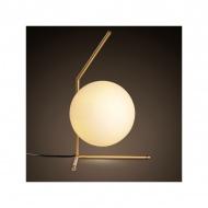 Lampa podłogowa 21cm Step into design Solaris biało-złota
