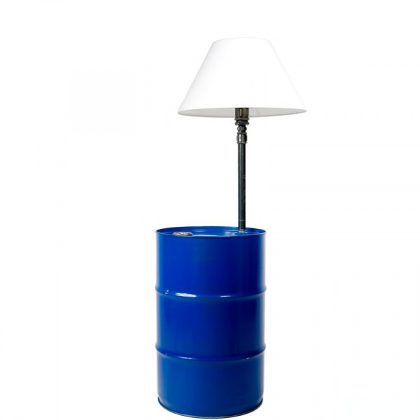 Lampa podłogowa Gie El granatowy LGH0150