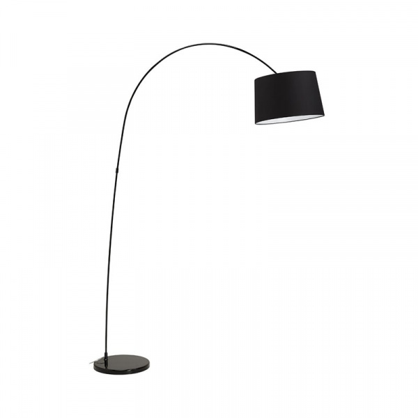 Lampa podłogowa Kaiser Kokoon Design czarny FL00280BL