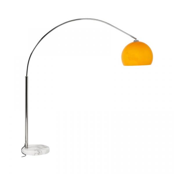 Lampa podłogowa Loft Small Kokoon Design pomarańczowy FL00040OR