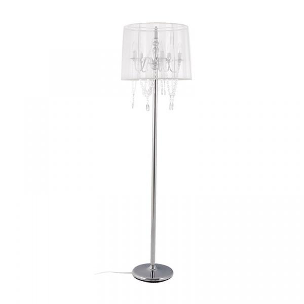 Lampa podłogowa Lounge Kokoon Design biały FL00020WH