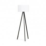 Lampa podłogowa Trivet Kokoon Design biały czarne nogi