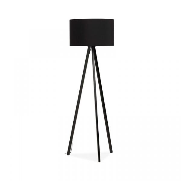 Lampa podłogowa Trivet Kokoon Design czarny czarne nogi FL00310BLBL