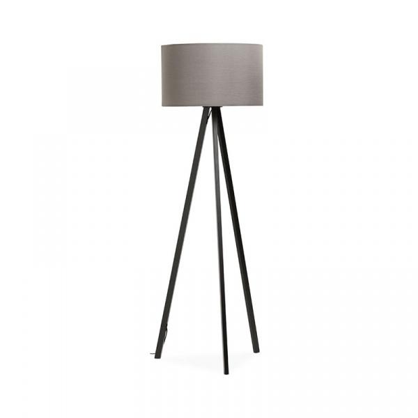 Lampa podłogowa Trivet Kokoon Design szary FL00340GRBL