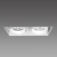 Lampa podtynkowa 18,3x9x9 cm Light Prestige Merano biała
