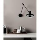 Lampa ścienna / kinkiet Arigato GrupaProducts czarna