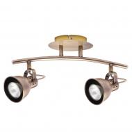 Lampa ścienna LightPrestige Bolzano 2 elementy patyna