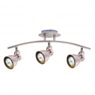 Lampa ścienna LightPrestige Bolzano 3 elementy nikiel