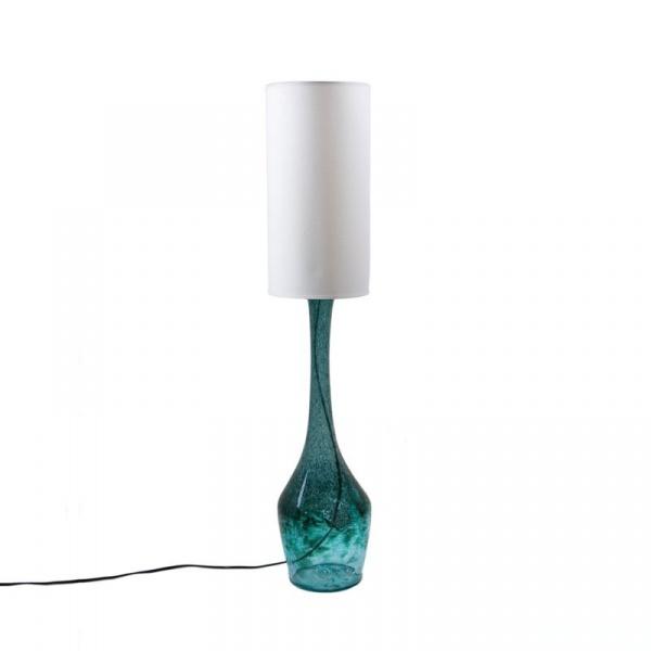 Lampa stołowa 90 Gie El turkusowy LGH0171