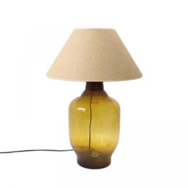 Lampa stołowa Gie El miodowy LGH0180